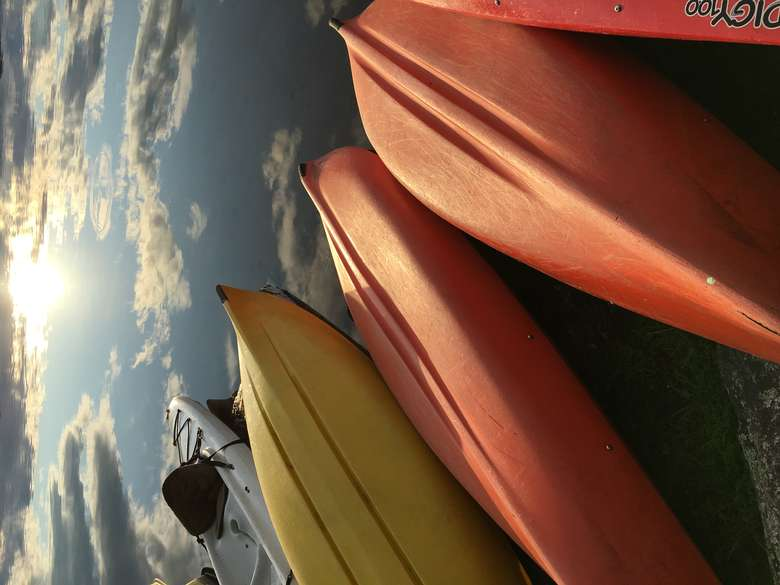 Kayaks - free for campers