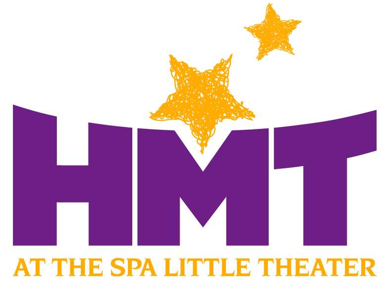purple and yellow HMT logo