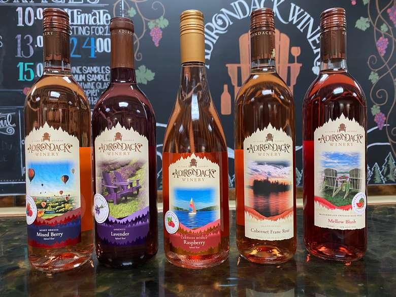 Blush wines