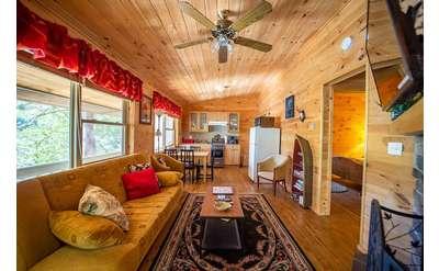 spacious cabin