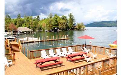 Flamingo Resort on Lake George