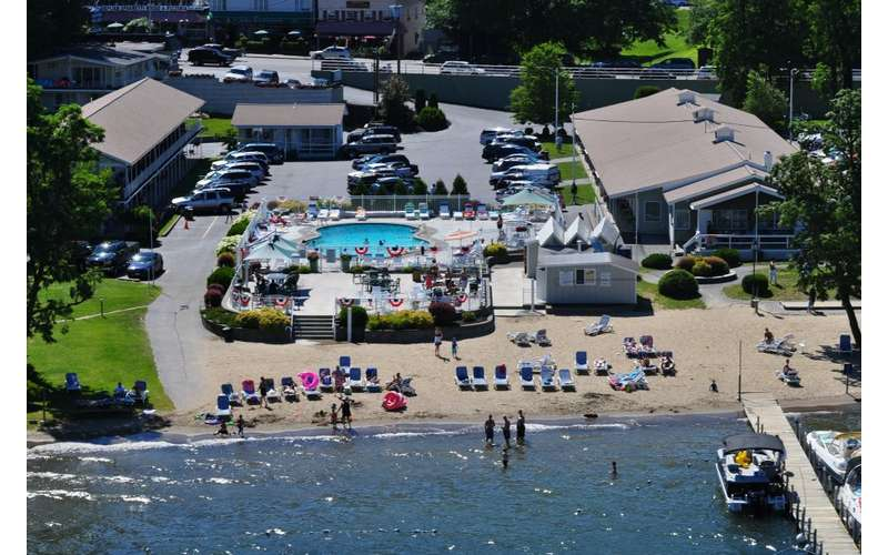 Birdseye view of Marine Village resort