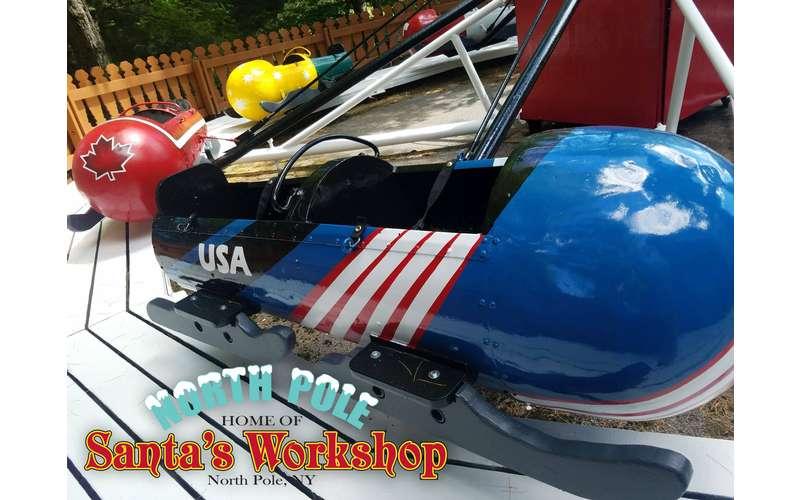 ride at Santa's Workshop