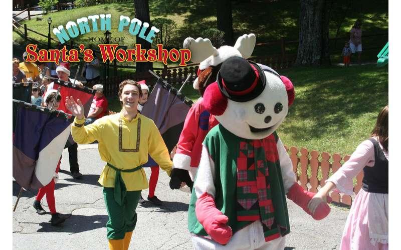 parade at Santa's workshop