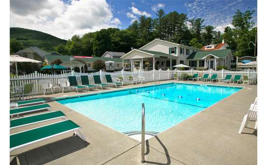 Pool and motels and cottages