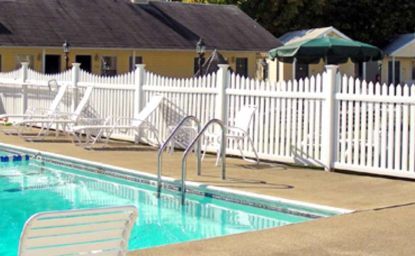 close up of outdoor pool