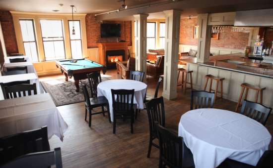 host your bridal shower or rehearsal dinner at saratoga city tavern