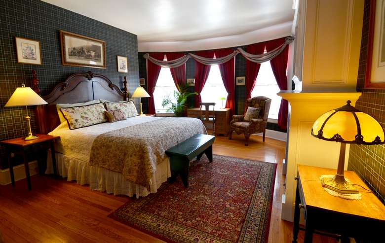 Kate room at Union Gables Hotel Saratoga Springs