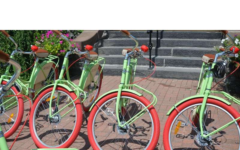 Bicycles at Union Gables