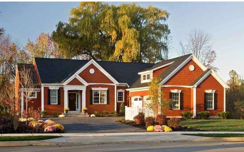 The Huntington - our 2008 Saratoga Showcase of Home Winner. You can visit this model home in Arlington Heights
