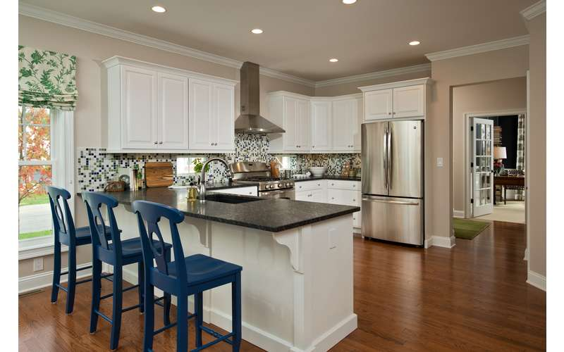 The Kitchen eat-in space in the Frisco - our 2013 Saratoga Showcase Home