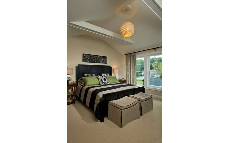 Master Bedroom in our 2013 Saratoga Showcase Home model in McKenzie's Way