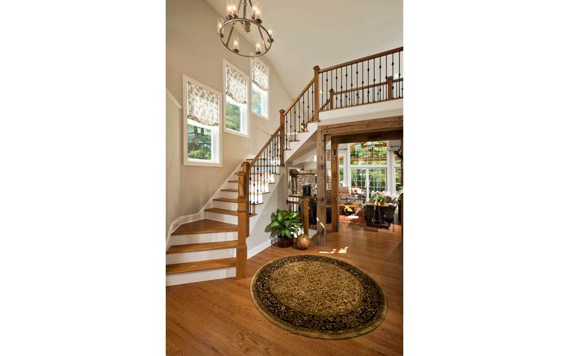 Foyer & Entrance in our 2015 Saratoga Showcase Home, The Chesapeke