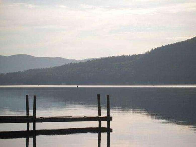 artsy photo of dock