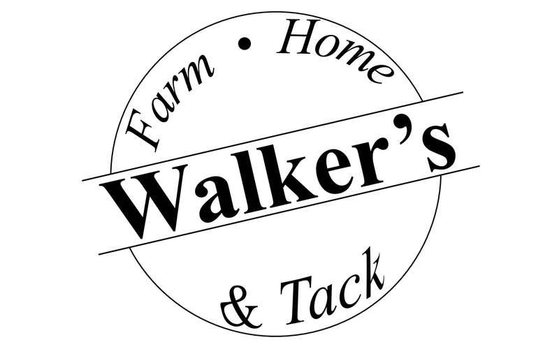 the logo for walker's farm, home, and tack