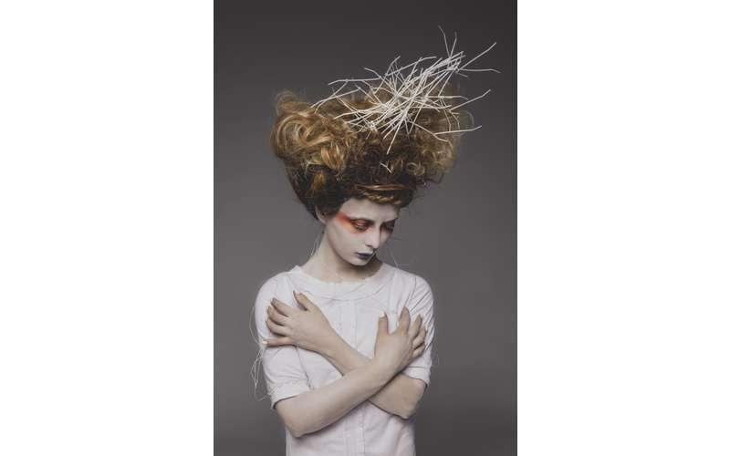 Hair by Jaysie Walts for Tiane Novati. Photo: Sarah Plezdek Smith