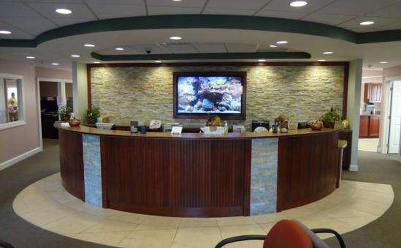 Front desk of the Office