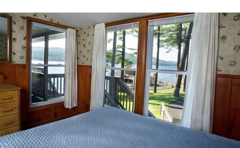 windows in a bedroom