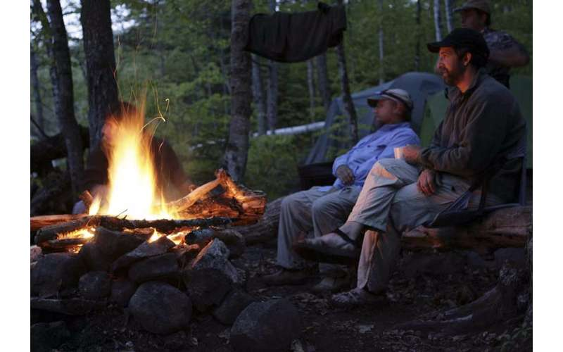 During your overnight trip with Beaver Brook, your guide will get you all set up at a campsite in the wilderness.