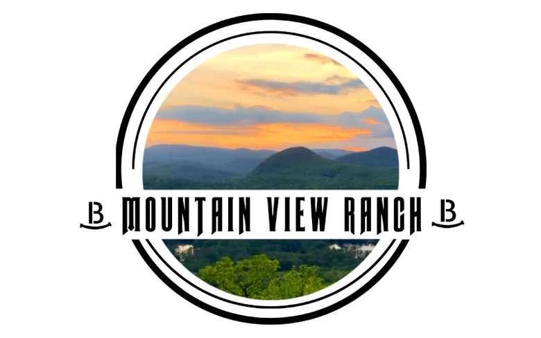 logo for mountain view ranch