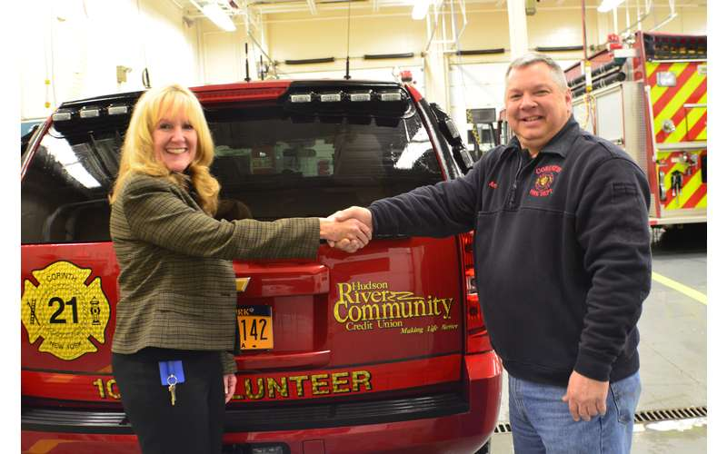 Corinth Fire Department Donation