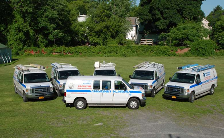 work vans from mahoney alarms