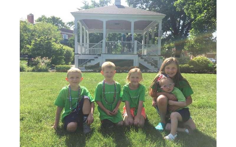 The O'Brien grandkids