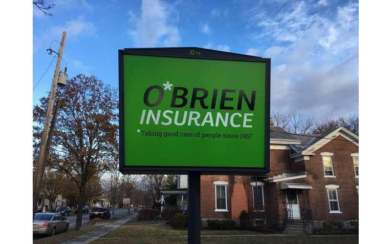 O'Brien Insurance Agency sign