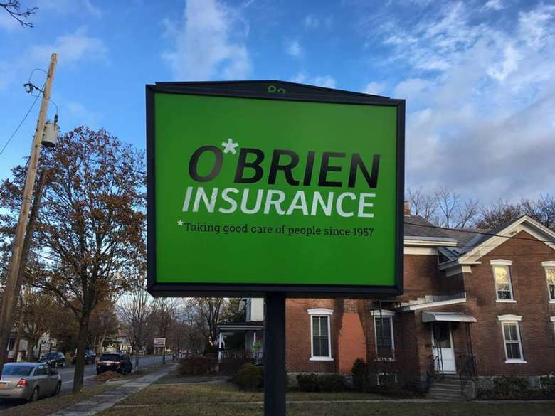 O'Brien Insurance Agency sign