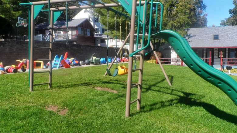 Playset at Cramer's Point Motel & Cottages