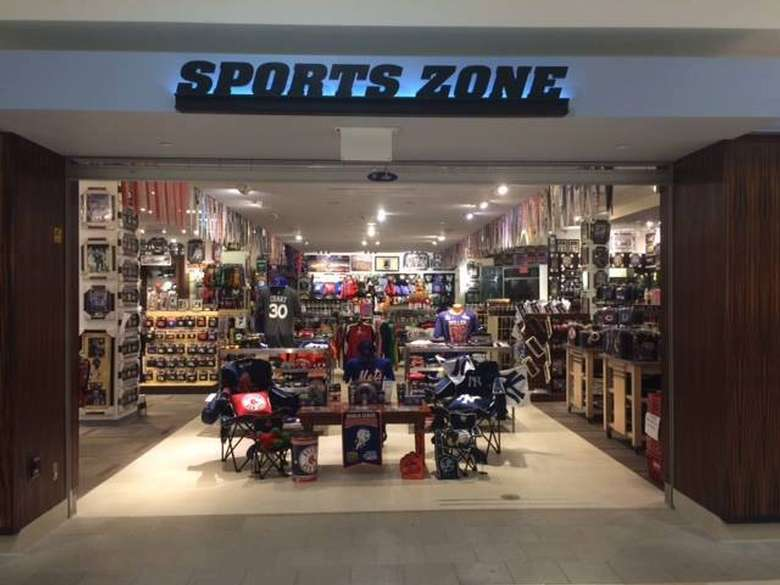 a Sports Zone store