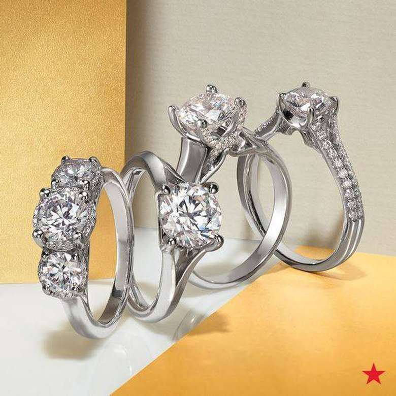 four engagement rings