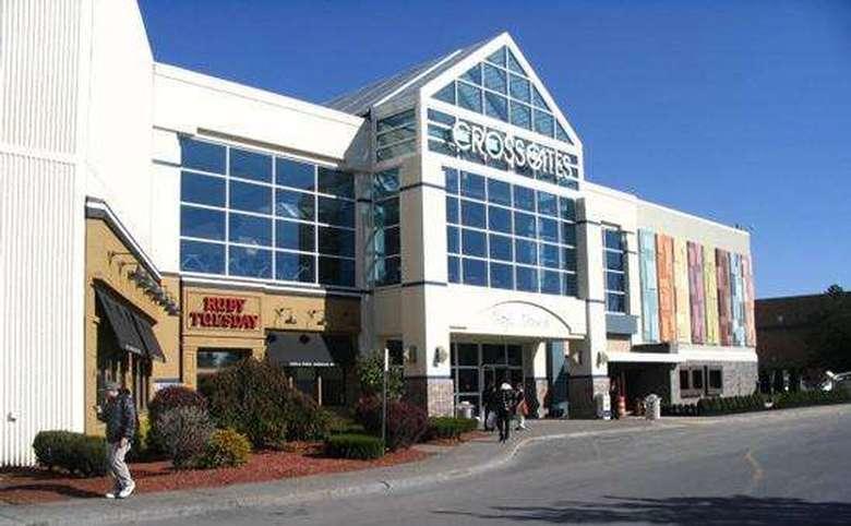 exterior of crossgates mall