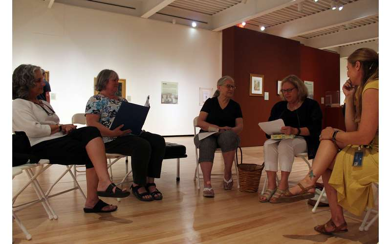 Book Clubs, Volunteer Opportunities, Lectures, Classes, Discussions, Chances to meet the Artists