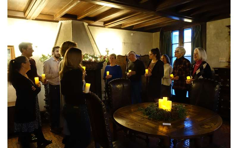 Candlelight Tours at the Holidays