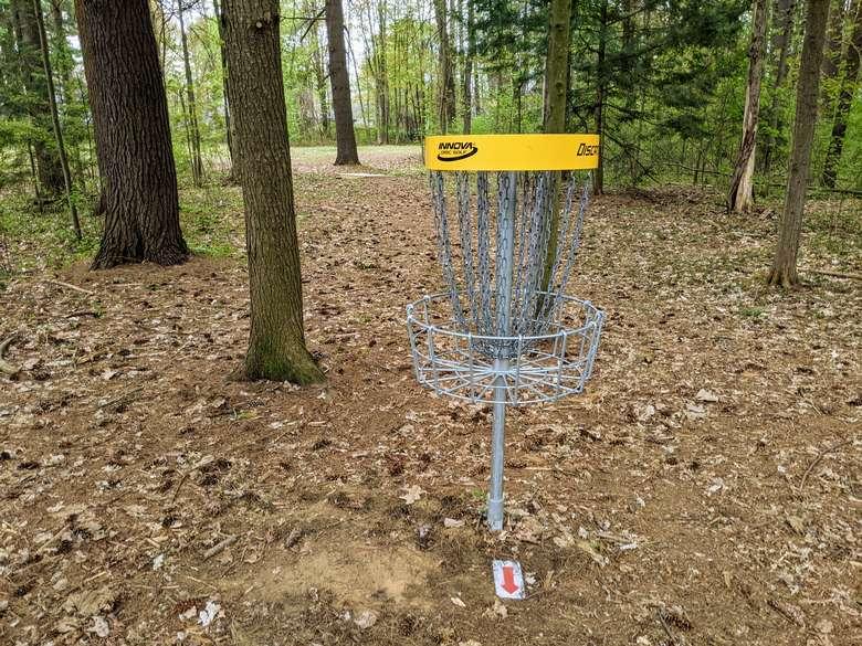 disc golf net