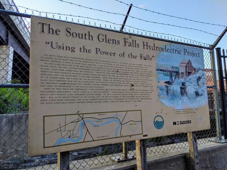 hydroelectric project sign