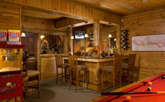 The lodge has public areas including a pool table, theatre, excursive room and an honor bar