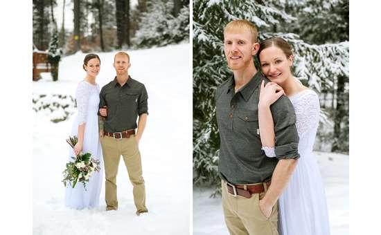 A beautiful winter wedding!