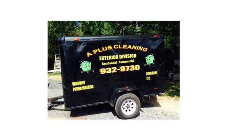 A Plus Cleaning Trailer