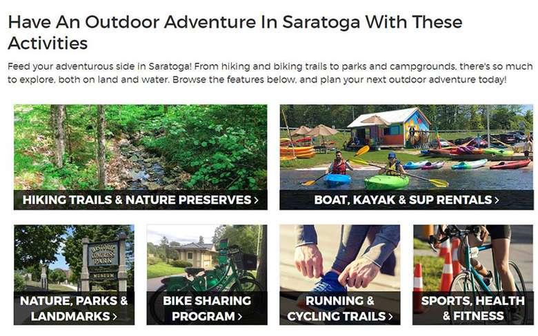 outdoor adventure guide in saratoga