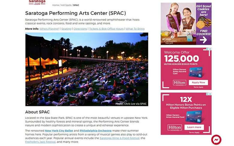 spac info page
