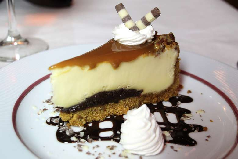 cheesecake dessert on a plate