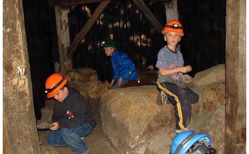 Crystal Quest and Gold Rush Mines for the kids