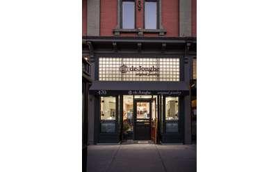 deJonghe original jewelry storefront