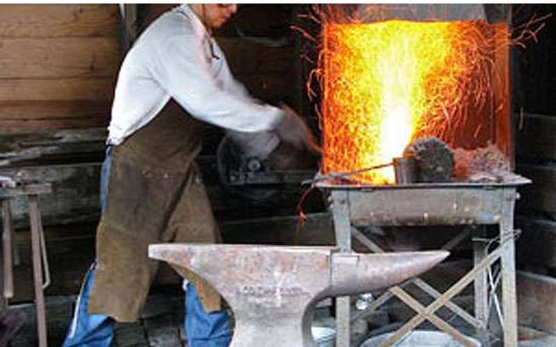 Take a course in blacksmithing.
