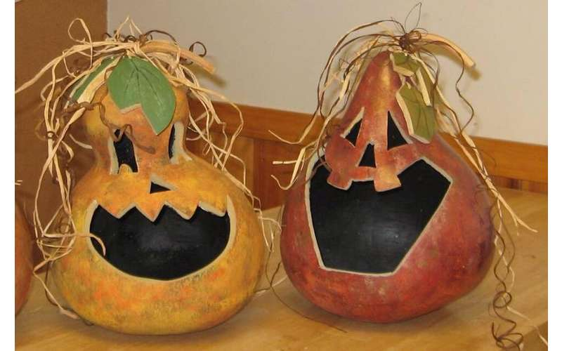 Make one-of-a-kind Halloween decorations.