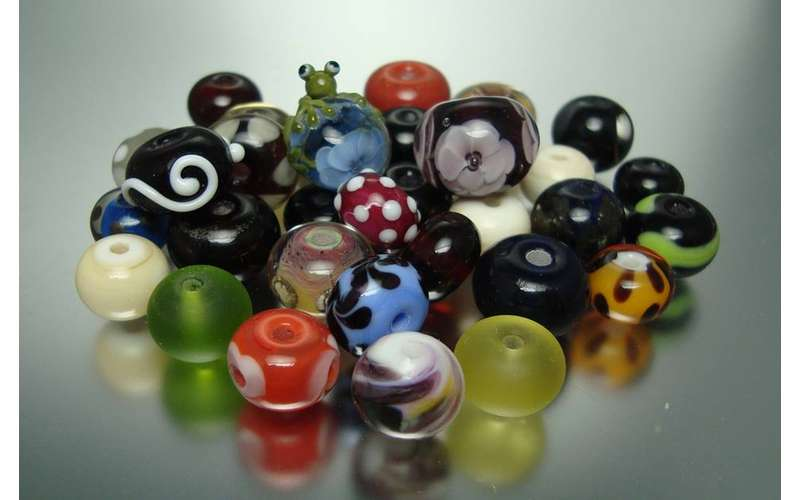 Glass bead-making is an ancient art form that just has to be experienced.