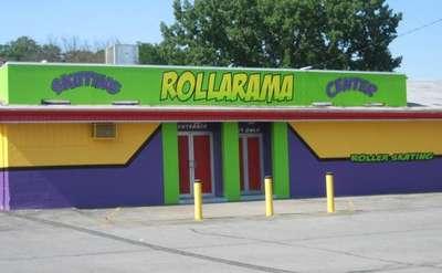 Exterior of Rollarama building