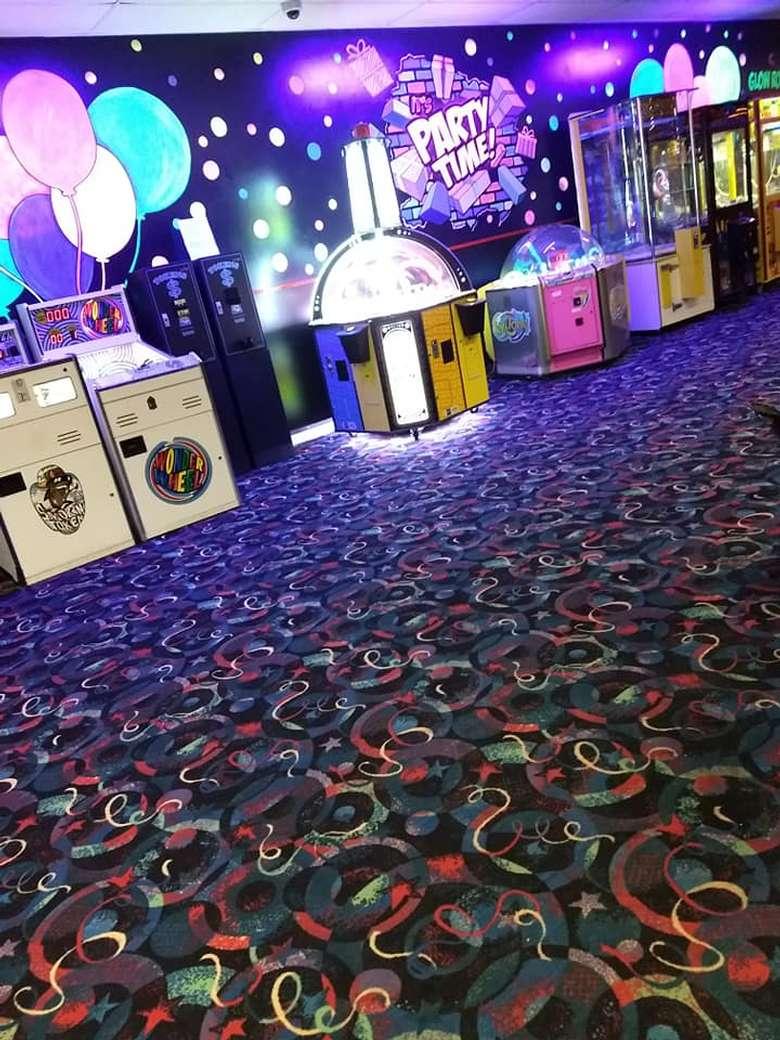 Arcade at Rollarama Skating Center Schenectady